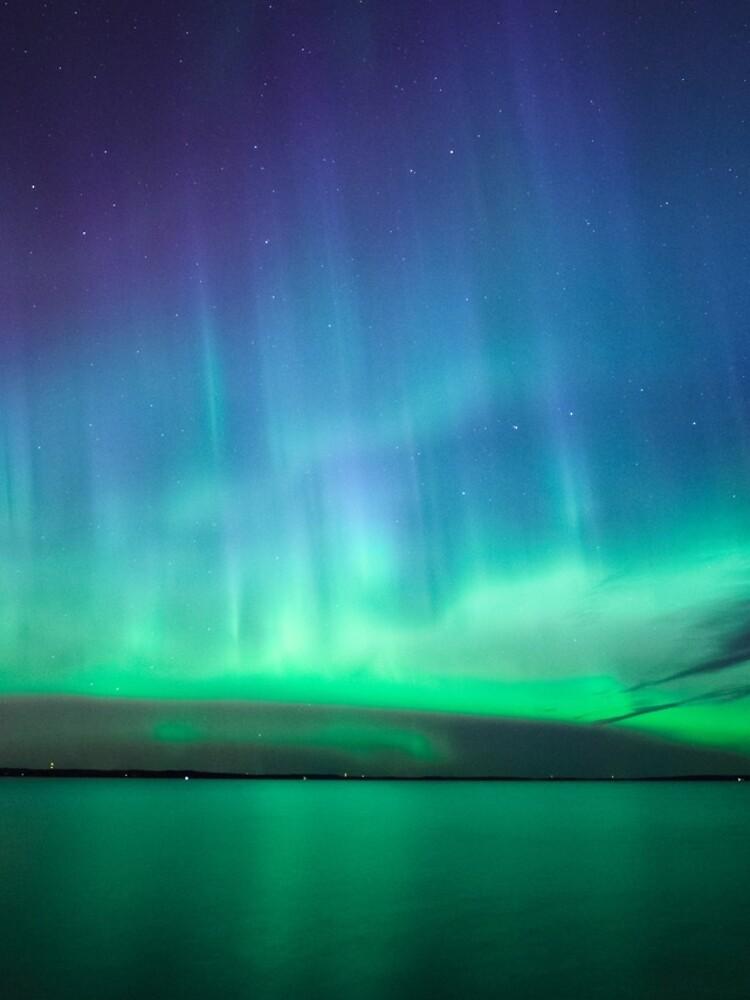Beautiful northern lights by Juhku