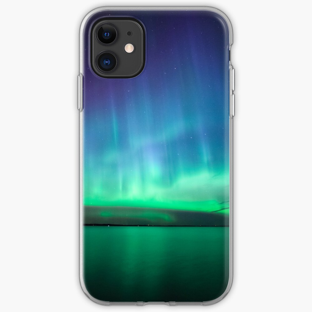 Beautiful northern lights iPhone Case & Cover
