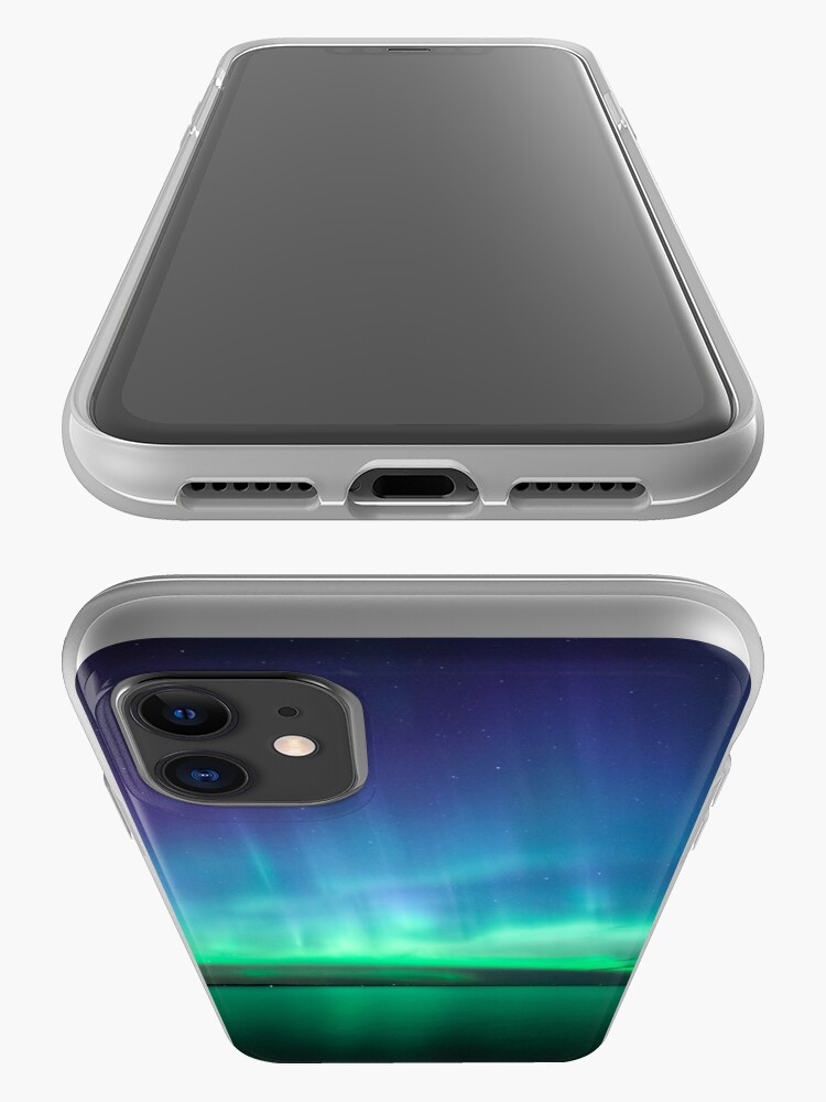 Alternate view of Beautiful northern lights iPhone Case & Cover