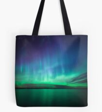 Beautiful northern lights Tote Bag