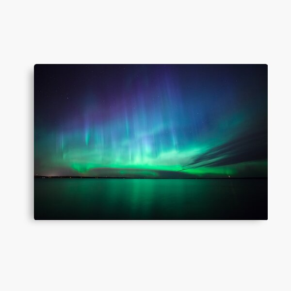 Beautiful northern lights Canvas Print