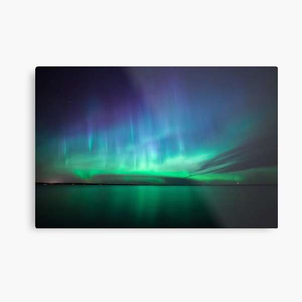 Beautiful northern lights Metal Print