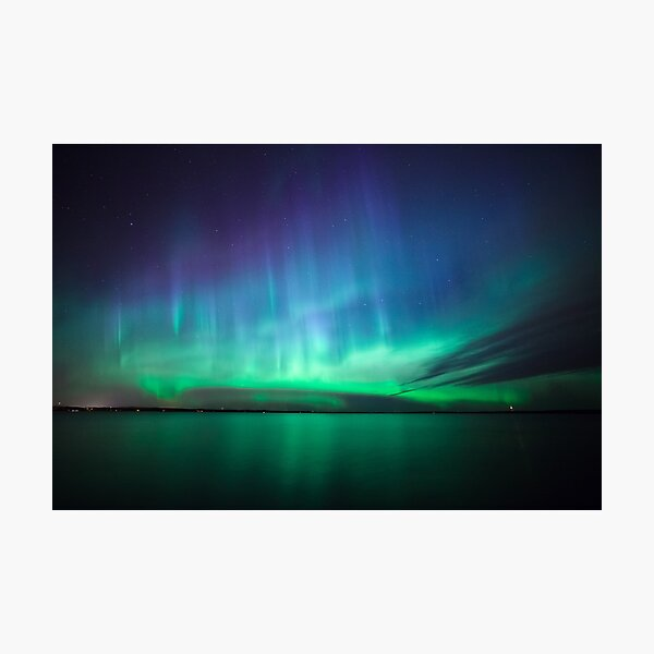Beautiful northern lights Photographic Print
