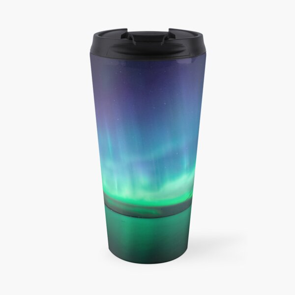 Beautiful northern lights Travel Mug