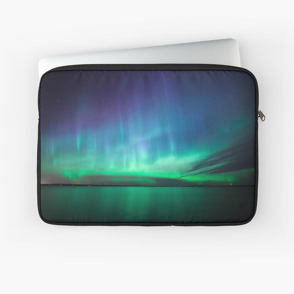 Schöne Nordlichter Laptoptasche