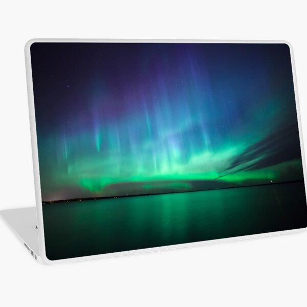 Beautiful northern lights Laptop Skin