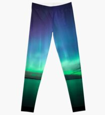 Beautiful northern lights Leggings