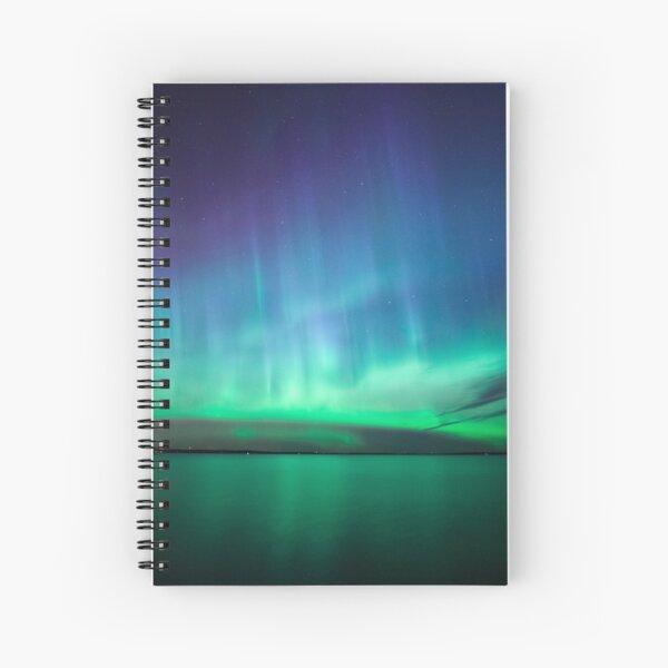 Beautiful northern lights Spiral Notebook