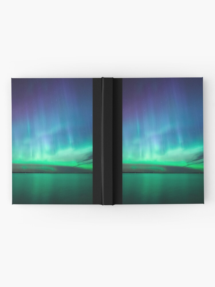 Alternate view of Beautiful northern lights Hardcover Journal