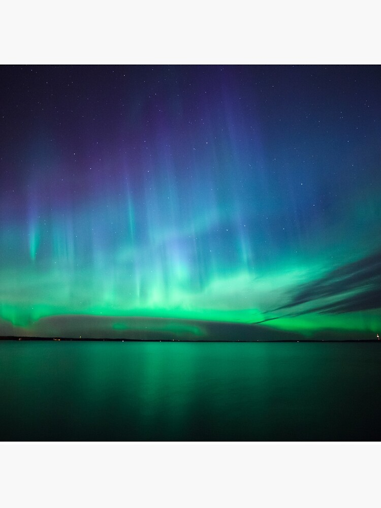 Beautiful northern lights by Juhku