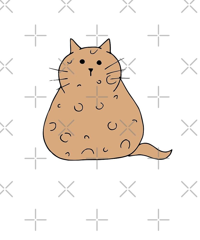 Cat Potato by fatamyfan1