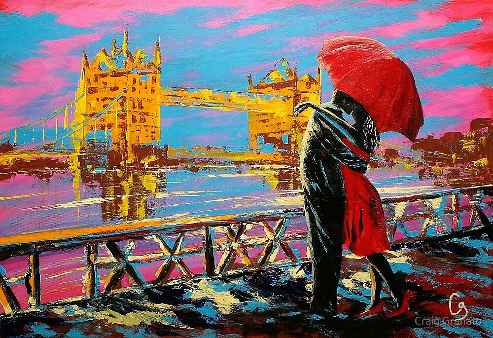 Lovers In London by Craig Granato