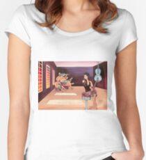 Recording Studio Women's Fitted Scoop T-Shirt