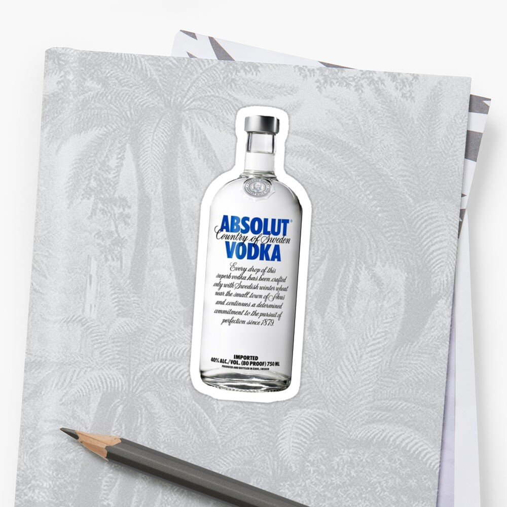 Absolute vodka by Kailawineland1