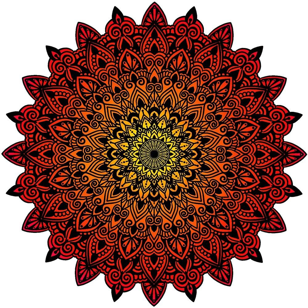 Mandala by Gaya3rcolourbox