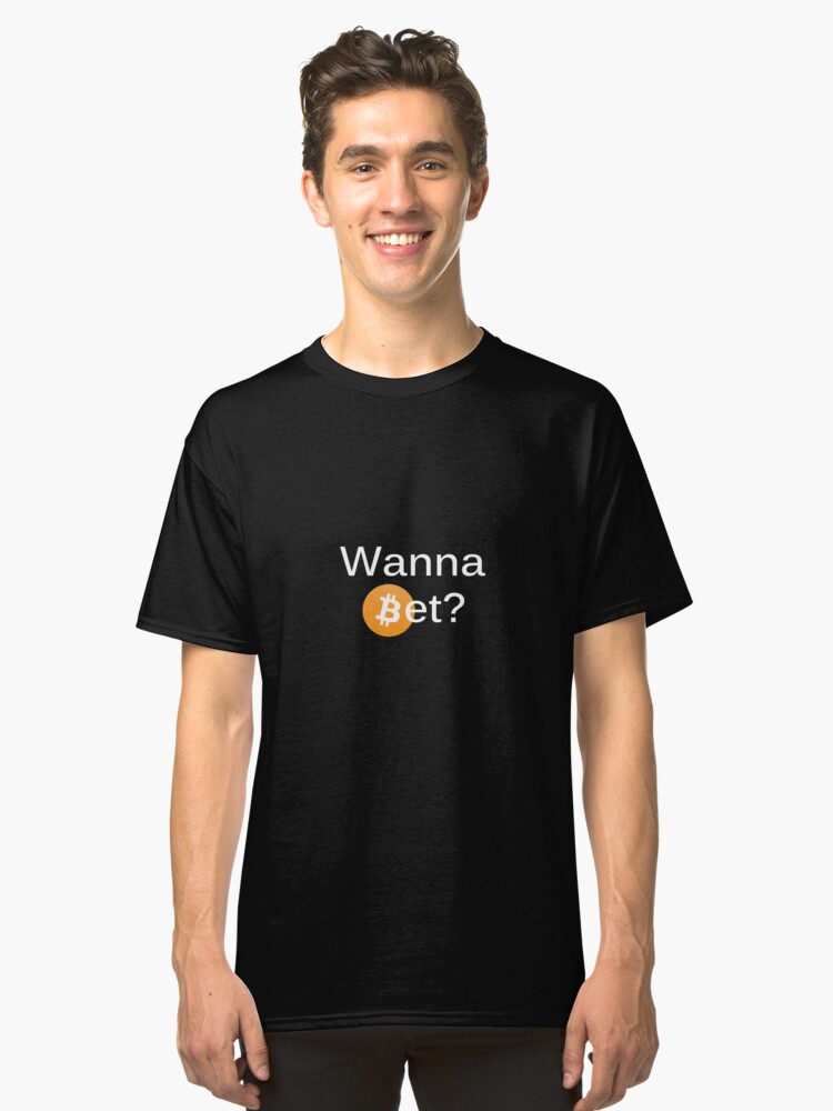 Bet on Bitcoin Classic T-Shirt Front