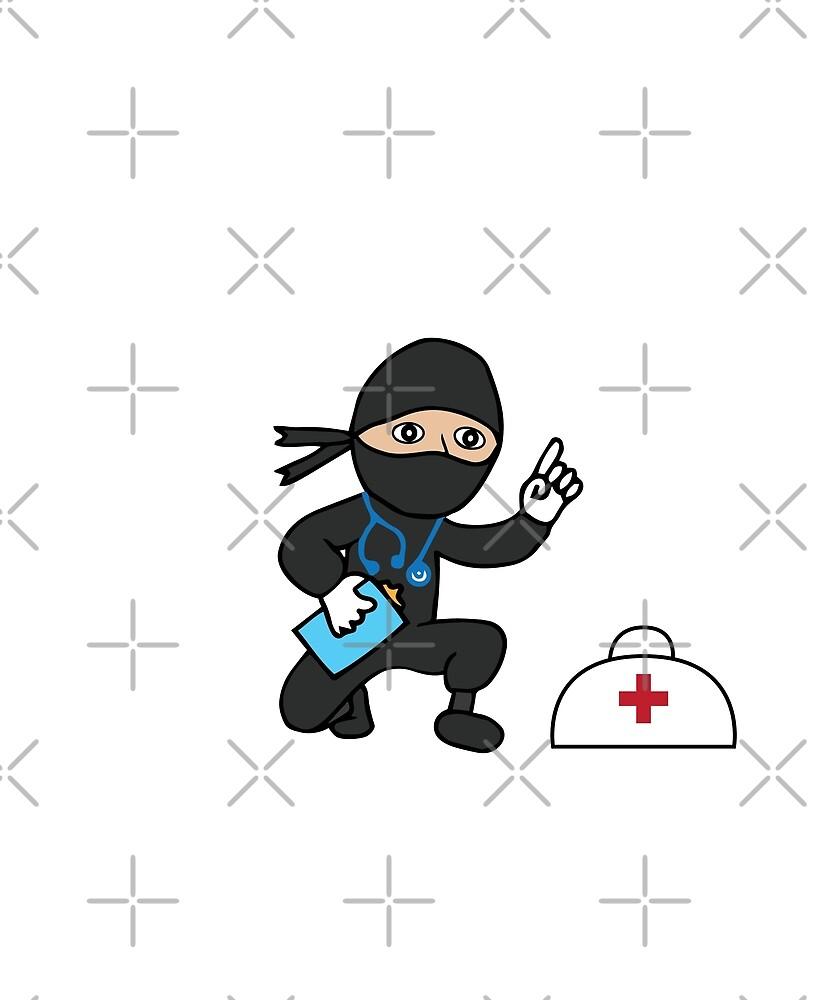 Ninja Doctor by fatamyfan1