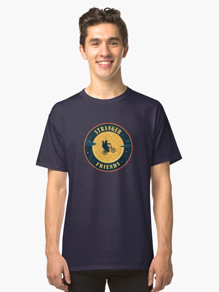 Stranger Friends Classic T-Shirt Front