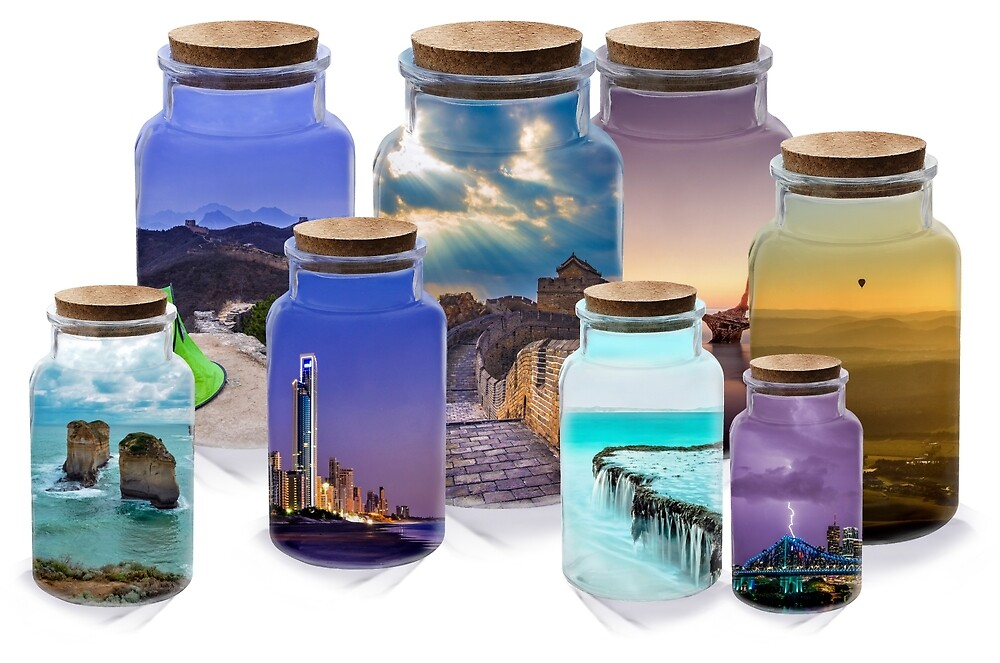 Bottled worlds by Apatche Revealed