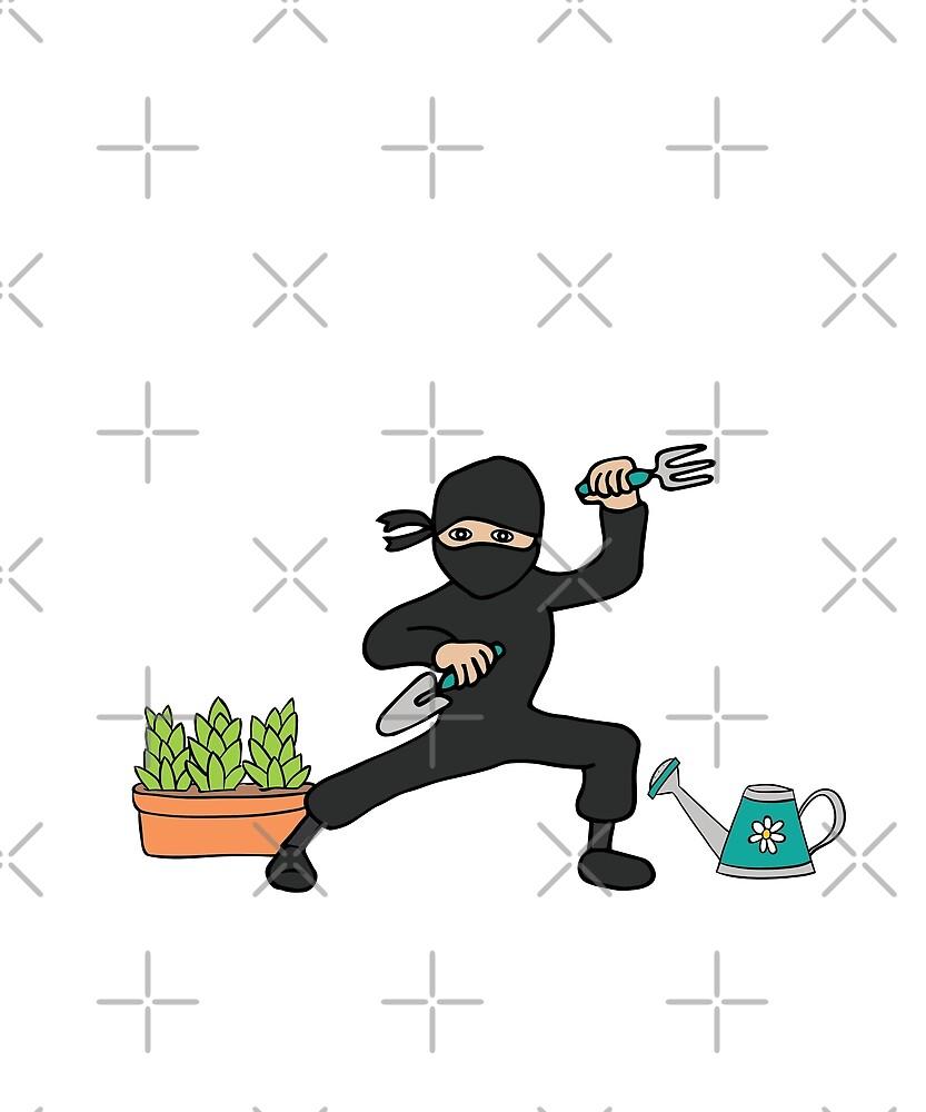 Garden Ninja  by fatamyfan1