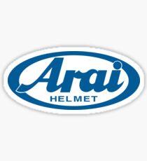 Arai Helmet Sticker
