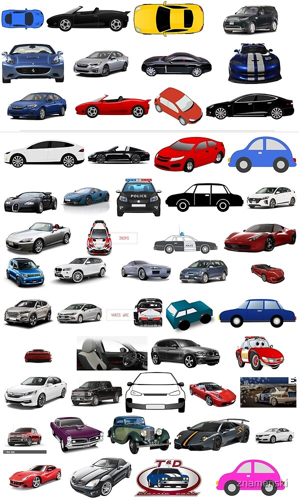 Car, vehicle, automobile, auto, motor car, motor vehicle,  passenger car by znamenski