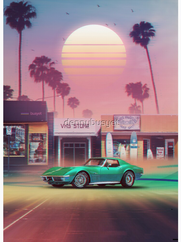 Synthwave Sunset Drive de dennybusyet
