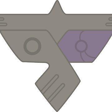 Parasite APE insignia - corner print by supanerd01