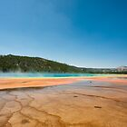 Grand Prismatic Spring, WY by ChaseTheAlpine