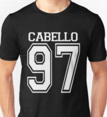 Camiseta ajustada Cabello negro 97