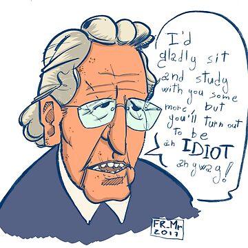 Chomsky knows better by FMMr