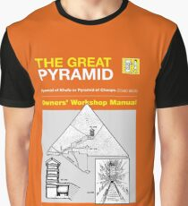 Owners Manual - The Great Pyramid Graphic T-Shirt