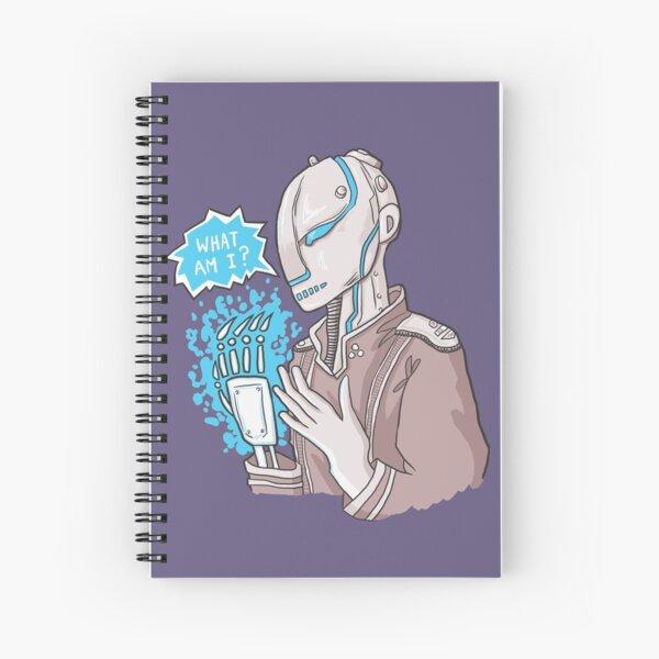 Robot crisis Spiral Notebook