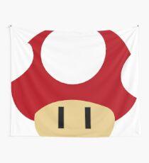 Mario Mushroom  Wall Tapestry