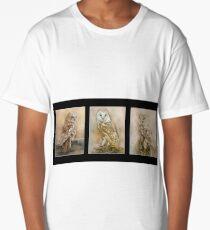 British Owls Long T-Shirt