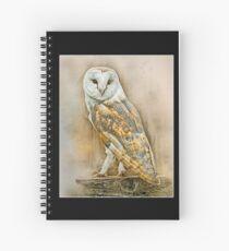 British Owls Spiral Notebook