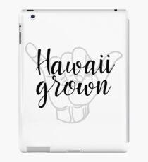 Hawaii gewachsen iPad-Hülle & Klebefolie
