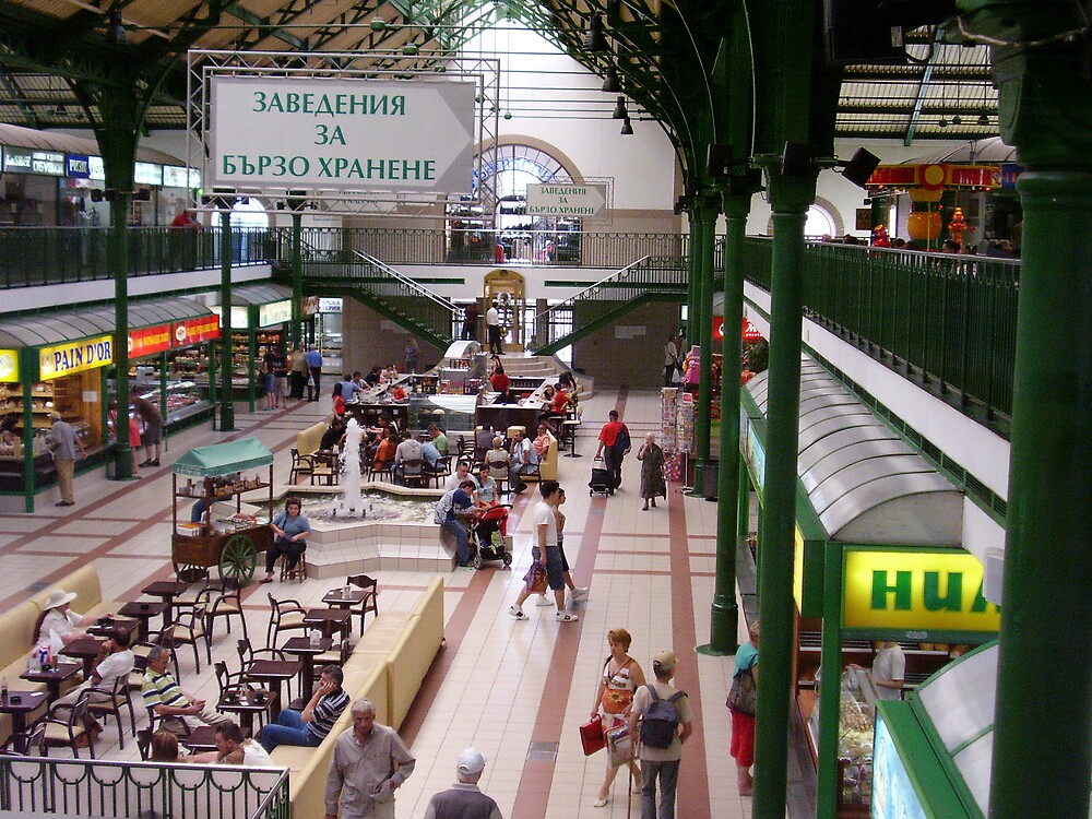 Hali - City market of Sofia by tonymm6491