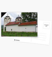 A Church in Kosovo Postcards
