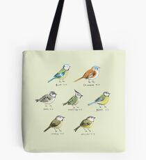 The Tit Family Tote Bag