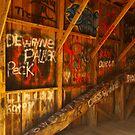 Graffiti Bridge by Richard G Witham