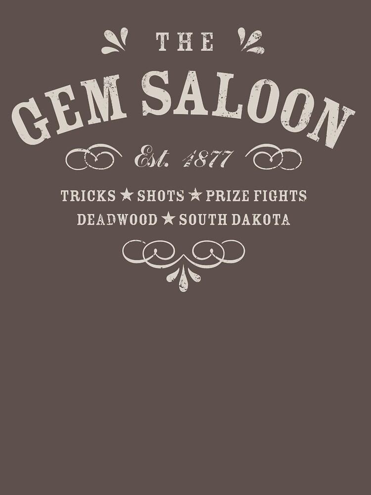 The Gem Saloon, Deadwood by heavyhand