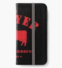 Sawyer Slaughterhouse iPhone Wallet/Case/Skin