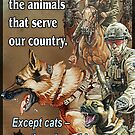 Military Animals by iancoate