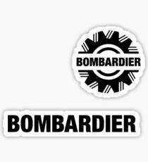 Bombardier Logo Sticker
