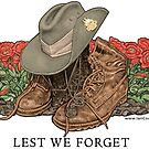 Lest we Forget Print by iancoate