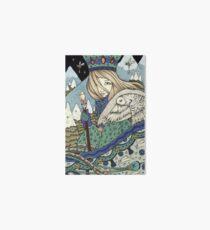 The Snow Queens Journey Art Board