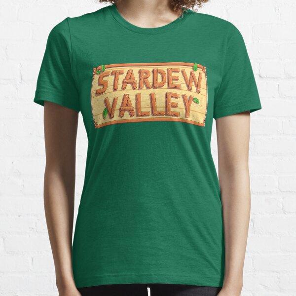Stardew Valley - wooden logo Essential T-Shirt
