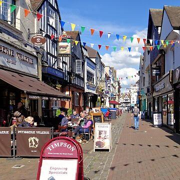 Butcher Row, Salisbury, Wiltshire, United Kingdom. by AndyHkr