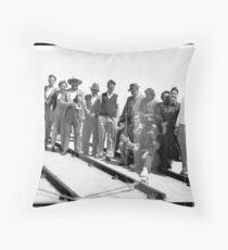 The Nostalgia Redbubble Camera Club Throw Pillow